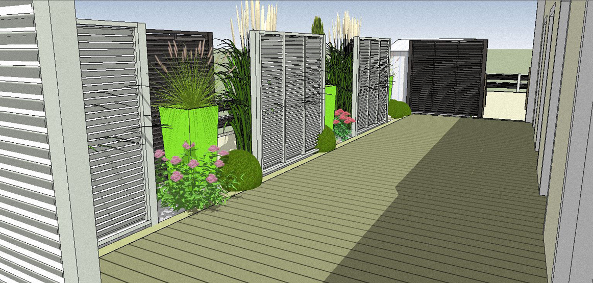 Nos derni res cr ations for Sketchup jardin